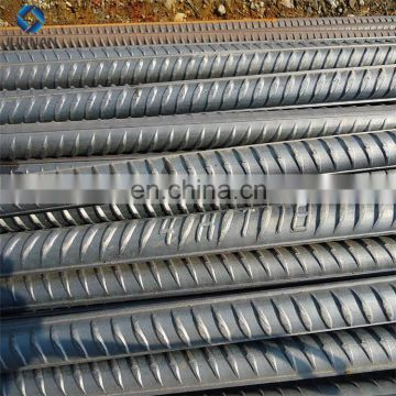 HRB400 GR60 Grade steel rebar, deformed steel bar, iron rods for construction