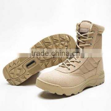 2016 new fashion durable army tactical combat boots casual leisure boots