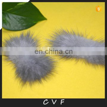 Real mink fur bowknot fashion fur accessory charm for coats hairbands