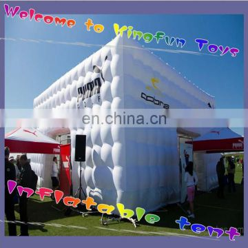 Outdoor advertising cube tent for show
