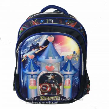 16 inch latest 3D EVA Beautiful Girls' school bag, teenager lightweighted backpack, large capacity shoulder bookbag