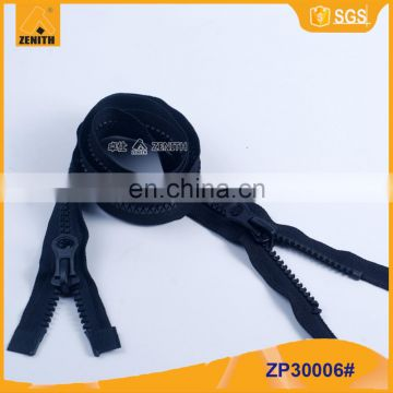 Quality Two Way Molded Plastic Derlin Zippers ZP30006