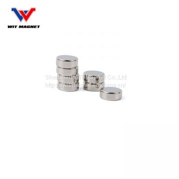Customized Strong Permanent Rare Earth Neodymium Disc Round Magnet