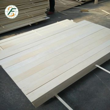high quality FSC certificate E1  glue poplar LVL for bed slat in Shandong province