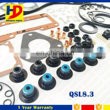 QSL8.3 Engine Overhaul Cylinder Head Gasket Set