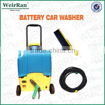 (73909) 16l battery powered wheel easy-taken 12v portable pressure car windshield washer