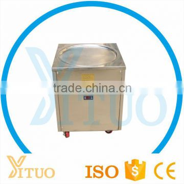 Factory Supply Flat Big Pan Fry Ice Cream Machine with Low Price