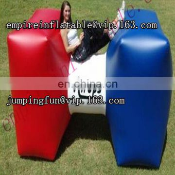 2017 hot sale commercial inflatable paintball bunkers games ID-PB039