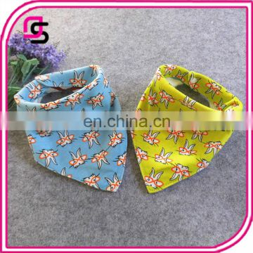 Wholesale latest good quality product triangular baby bandana bib