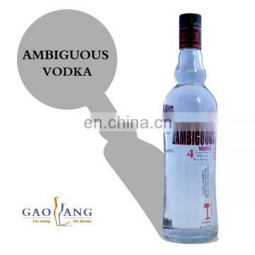 Top quality sales russian vodka price from vodka factory