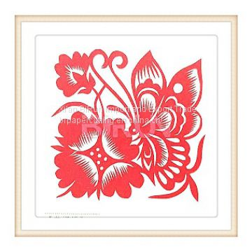 BUTTERFLY CHINESE PAPER CUTTING