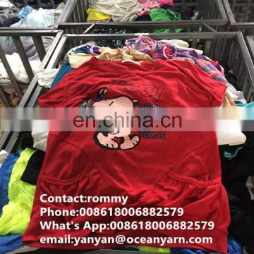 cheaper price summer second hand clothing for wholesale