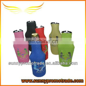 Customized neoprene single beer coolers with your logo