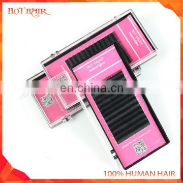 Top quality Synthetic Fiber faux mink eyelash extension