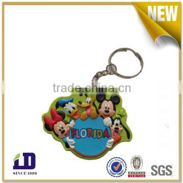 Custom Branded Soft PVC Keychain for giveaway
