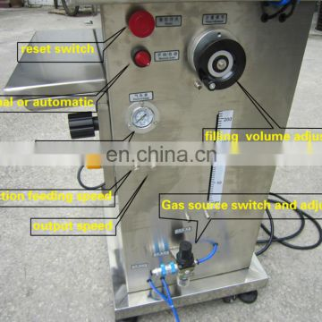 FLK CE high quality powder filling machine ,ice cream filling machine