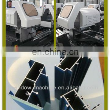 PVC UPVC Vinyl window door cutting machine/Window profile assembly machine/Aluminum win-door profile cutting saw machine