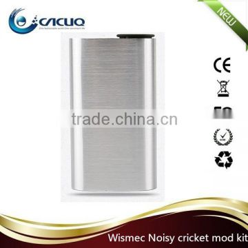WISMEC Noisy Cricket Mod designed by Jay-Bo wismec noisy cricket dual 18650 batteries