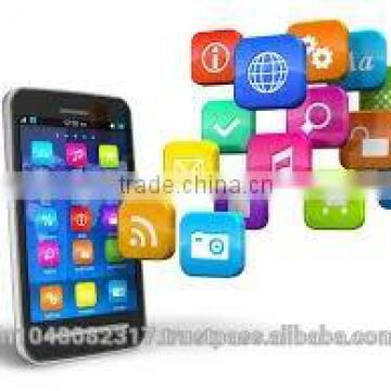 mobile app development and android application