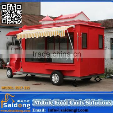 mobile food cart for frying china food trailers food cart for sale