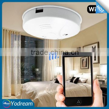 Wireless Smoke Detector Hidden Camera Nano Dvr Ip Cam With Free