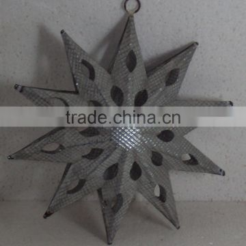 Hanging Metal Star,Hanging Decorative Metal Stars