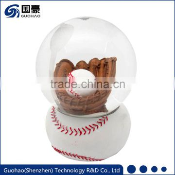 Personalized Basketball Water snow globe