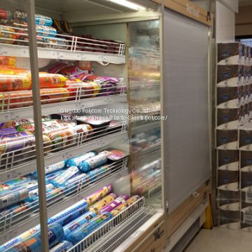 night blind for supermarket chiller