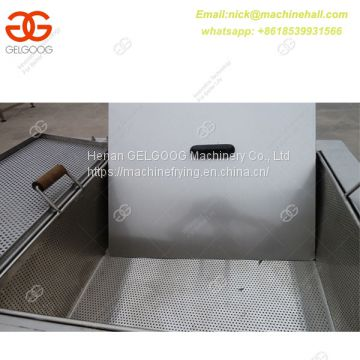 Best 2 Tanks French Fries Frying Machine Suppliers/Industrial Double Basket French Fries Fryer/French Fries Fryer