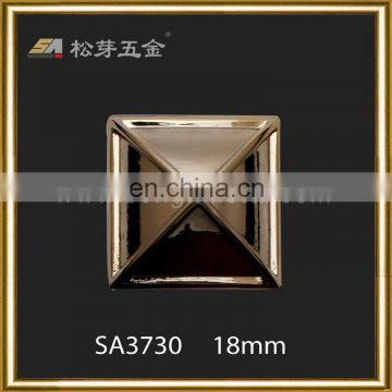 Best quality new products copper pyramid studs for shoes