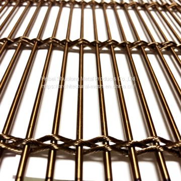 XY-M3810 Rose Golden Metal Mesh Ceiling for Theatre