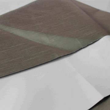 3 pass FR coated blackout polyester curtain fabric