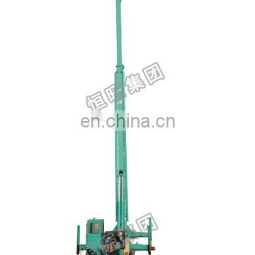 HW pile drilling machine with hydraulic system