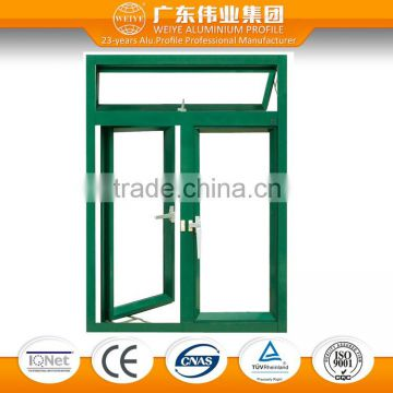 Cheap aluminium french casement window