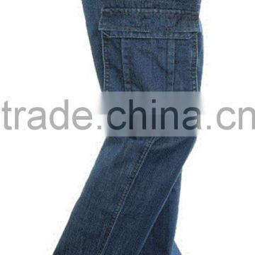 Wholesale Mens fashion fitting tailored jeans cargo pants                                                                         Quality Choice