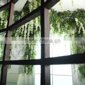 fake green hanging plant outdoor uv proof factory hot-sale fake artificial hanging vine