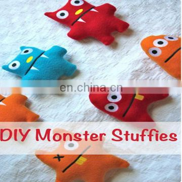 cute and cuddly Plush Monster Stuffed Animal, Jasper DIY monsters as party favors! A fun project for kids this Halloween