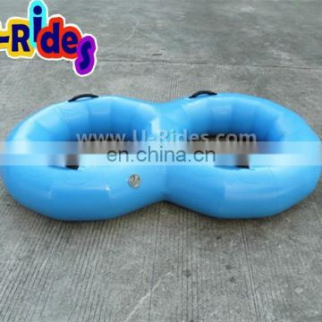 PVC summer hot inflatable double river tube for sale