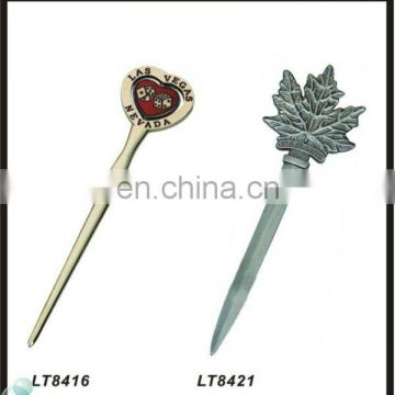 Souvenir promotional gift of decoration letter opener