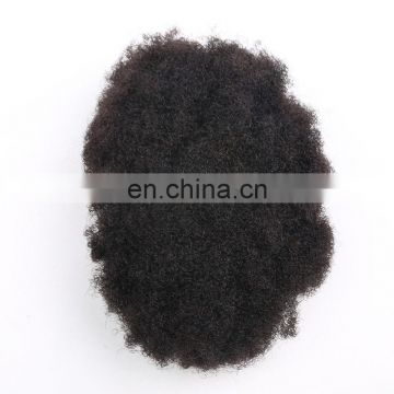 Wholesale price good quality thick human hair wig afro kinky hair