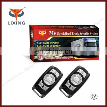 24v car immobilizer system with original central locking system/voice Security for truck