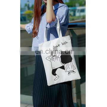 12 oz cotton canvas tote shopping bag