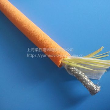 Bending Resistance 3 Phase Cable Monolayer Total Shielding