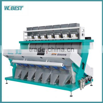 Stability long life CCD plastic color sorting machine