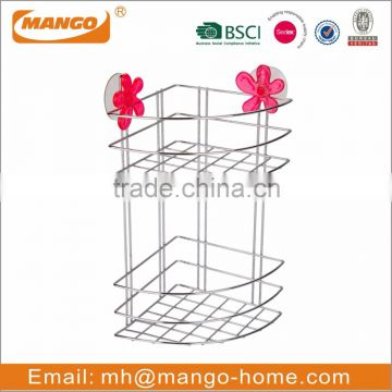 3-tier Metal Wire Wall Mounted Bathroom hanging Shower Caddy