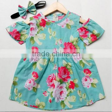 f038ed72a Simple Cotton Frocks Designs Baby Girl Floral Patterns Vintage Dress ...