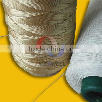 PTFE coated sealing and insulating fiberglass sewing thread