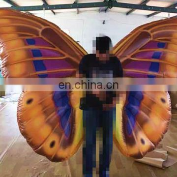 new design inflatable butterfly wing costumes for stage
