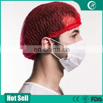 Disposable Colorful Medical Non Woven Nurse Cap for Sell