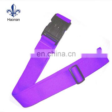 cheap sales single custom printing luggage belt strap for travel luggage